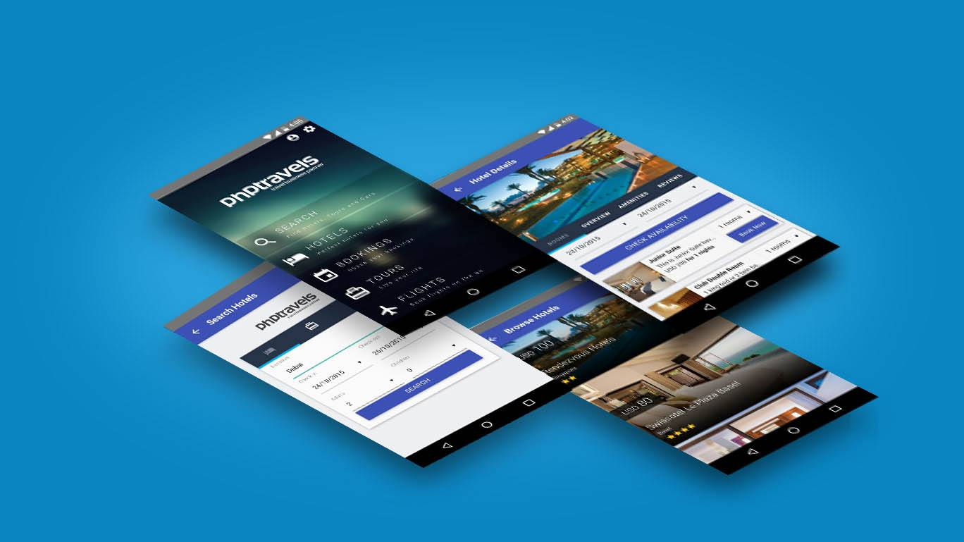 php hotels booking script