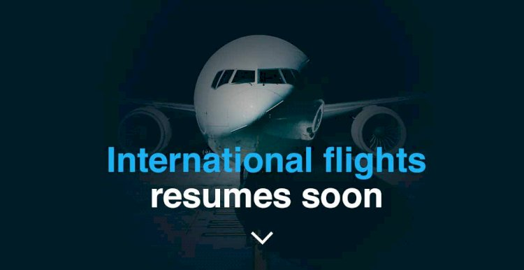 International Flights Are Coming